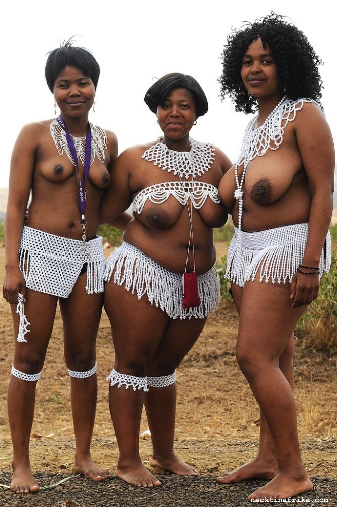 afrika nackte frau